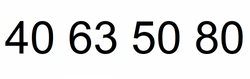 Telefonnummer 40635080